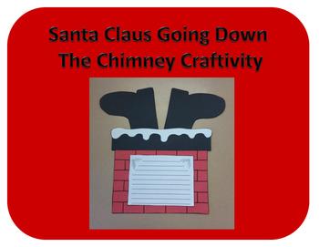 Santa Claus in the Chimney Craftivity (Christmas)
