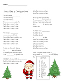 Santa Claus is Coming to Town-Christmas Song-Intensive English-ESL