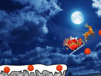 Santa Clause PowerPoint Game Christmas Themed Cliff Hanger Keynote Version