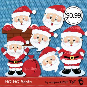 Santa Clouse clipart SALE