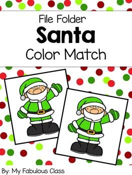 Santa Color Sort