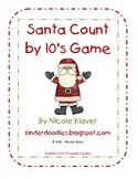 Santa Count by 10s Game