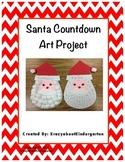 Santa Countdown Art Project