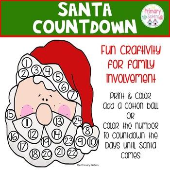 Christmas Countdown Poem Worksheets Teaching Resources Tpt