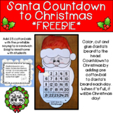 Santa Countdown to Christmas *FREEBIE*