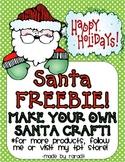 Santa Craft FREEBIE!