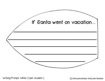 Santa Craft {Santa on Vacation}