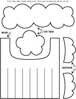 Santa Claus Worksheets Kindergarten