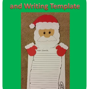 Santa Craft and Writing Template