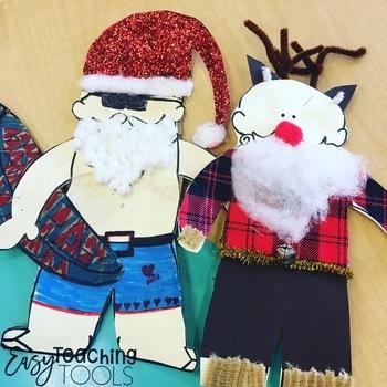 Santa Christmas Activity