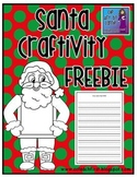 Santa Craftivity FREEBIE