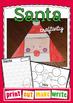 Santa Craftivity - Paper Craft and Writing Activities