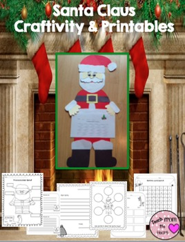 Santa Craftivity and Printables