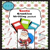 Santa Creative Writing Packet