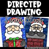 Santa Directed Drawing | Directed Drawing Christmas