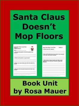 Santa Doesn't Mop Floors Bailey School Kids Book Unit