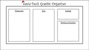Santa Duck Graphic Organizer