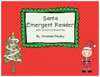 Santa Emergent Reader
