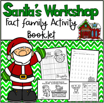 Santa Fact Families Booklet and Spinner Activities