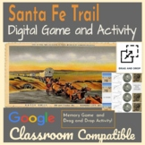 Santa Fe Trail Game and Activity / Distance Learning / Goo