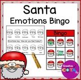 Santa Feelings and Emotions Bingo