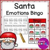 Santa Christmas Activity Feelings and Emotions Bingo