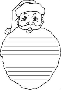 Santa Free Write
