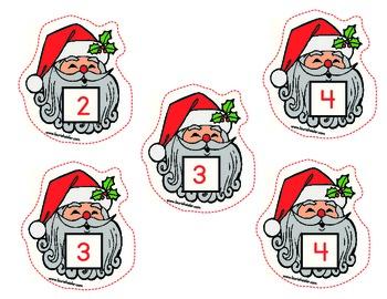 Santa Fun Classroom Learning Set