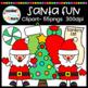 Santa Fun Clipart