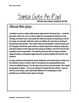 Santa Gets An iPad- Hilarious Christmas Concert for your Elementary School!