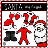 Santa Gets Dressed Emergent Reader and Mini Literacy Set