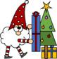 Santa Gnomes Sequence Clip Art
