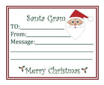 Santa Gram