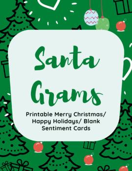 Santa Gram Christmas Cards