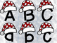 Alphabet Match Christmas Santa Hat