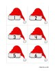 Santa Hat Domino Sort :: Practice Basic Addition