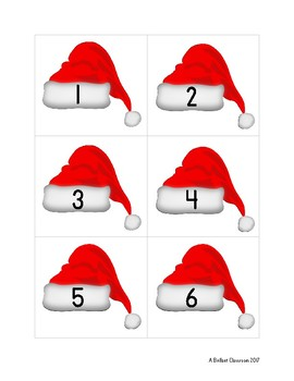 a5a64caf9 Santa Hat Domino Sort :: Practice Basic Addition by A Brillant Classroom