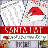 Santa Hat Graphing Mystery Picture (Coordinate Grid & Orde
