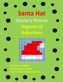 Santa Hat Mystery Picture Degrees of Adjectives