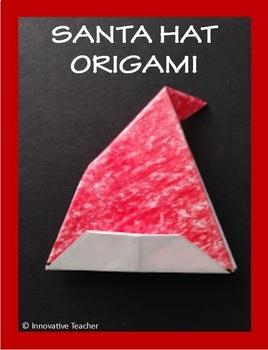 Santa Hat Origami