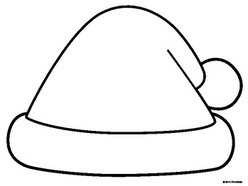 Santa Hat Template PDF