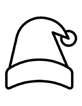 99 Coloring Pages Christmas Hat Pictures