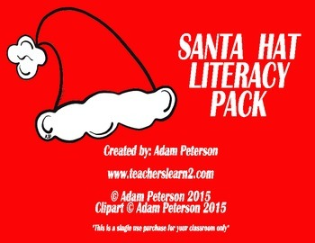 "Santa Hats - Letters, Sight Words, and ""I have, Who has"""