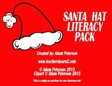 """Santa Hats - Letters, Sight Words, and """"I have, Who has"""""""