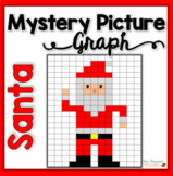 Christmas Math - Santa Mystery Picture Graph