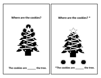 Santa, How Are You-Where Are the Cookies-Christmas Emergent Reader (Color-B&W)