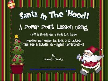 Santa In The 'Hood