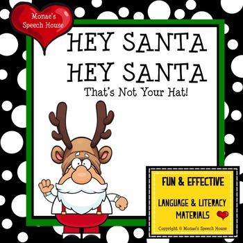 Santa Speech Therapy Pre-k