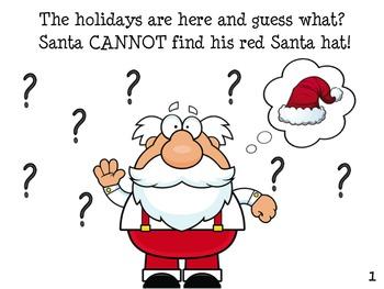 Santa Claus  Early Reader Literacy Circle