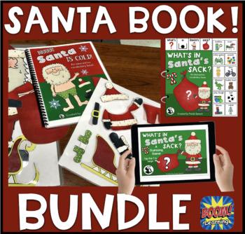 Santa Interactive Book Bundle! (+ Bonus NO PRINT Book)